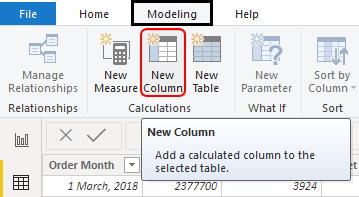 Create New Column Example 1-9