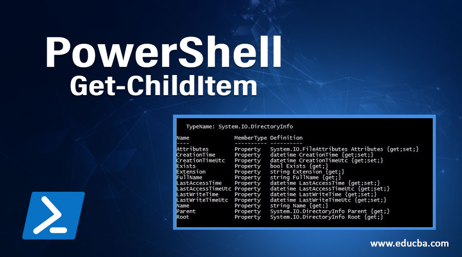 PowerShell Get-ChildItem