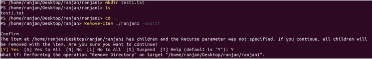 PowerShell Remove item example 4