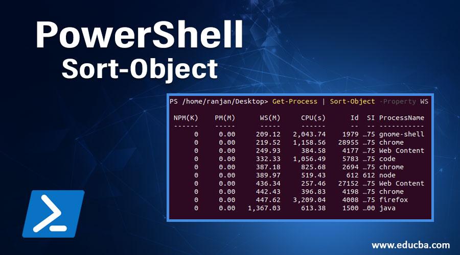 PowerShell Sort-Object