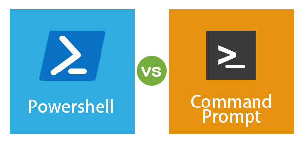 owerShell vs Command Prompt