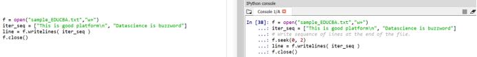 Python File Methods eg5.1