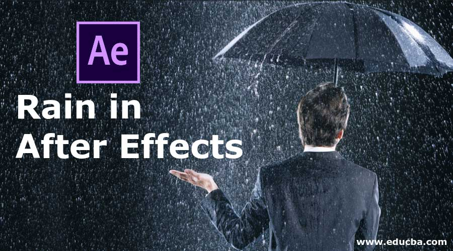 Rain in After Effects