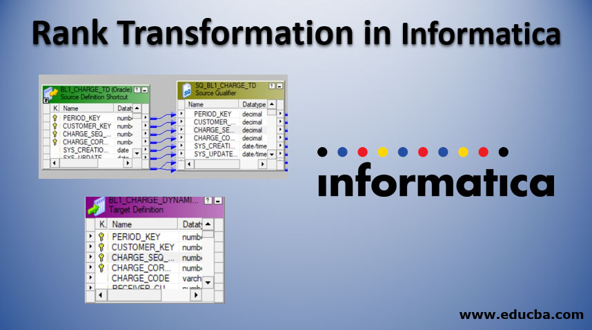 Rank Transformation in Informatica