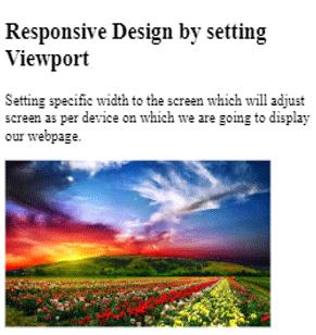 Responsive in HTML-2