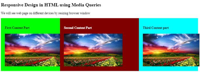 Responsive in HTML-6