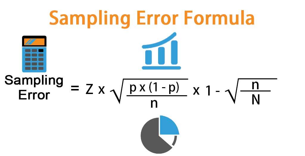 Sampling Error Formula