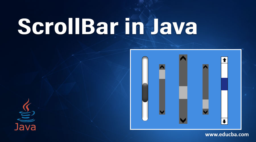 ScrollBar in Java