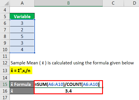 Standard Error Formula - 1.2