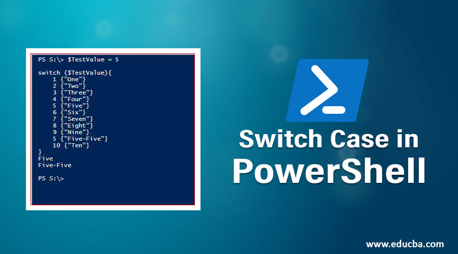 Switch Case in PowerShell