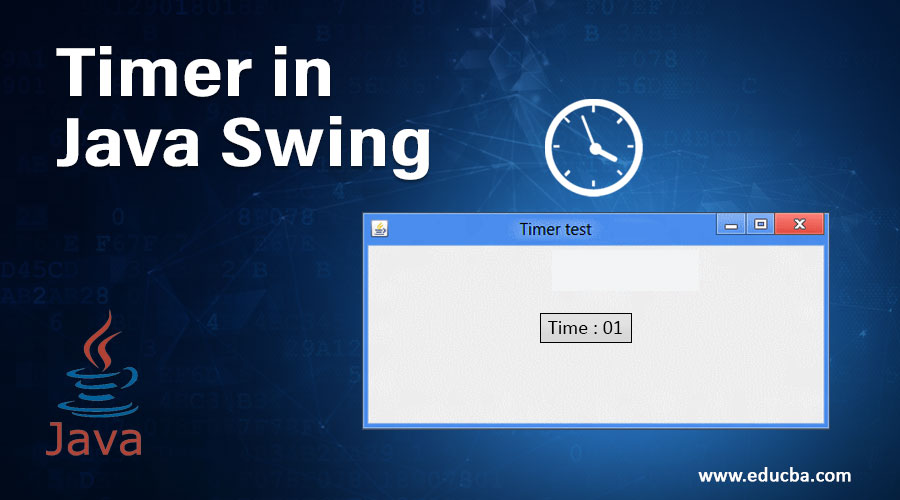 Timer in Java Swing