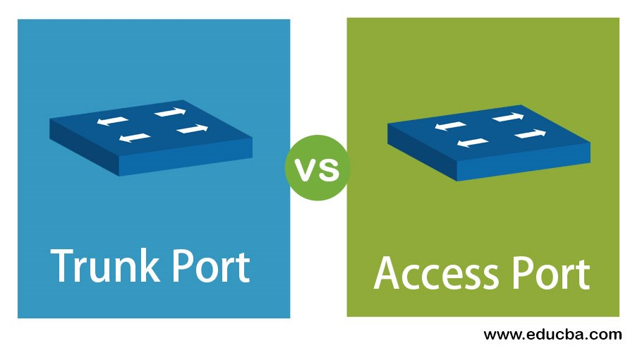 Trunk-Port-vs-Access-Port