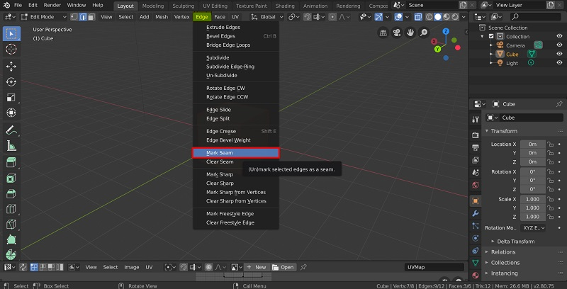 UV Unwrapping in Blender - 9