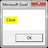 CLOSE Example 4-8
