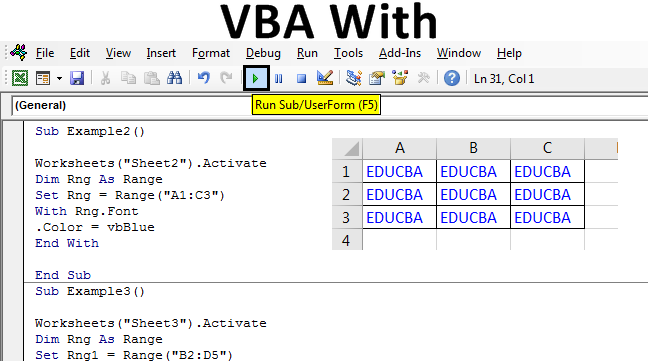 VBA With