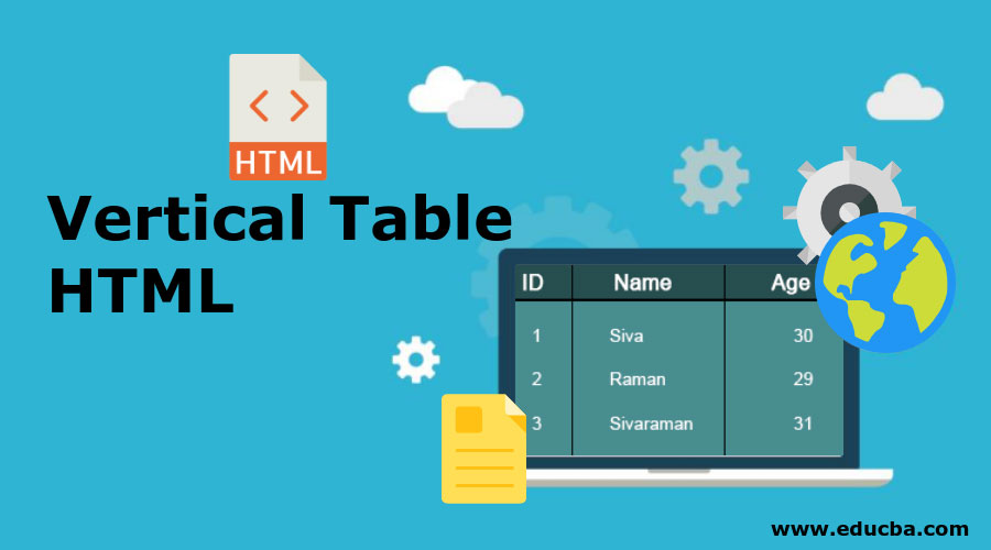 Vertical-Table-HTML