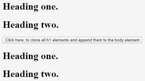 jQuery Clone() output 2