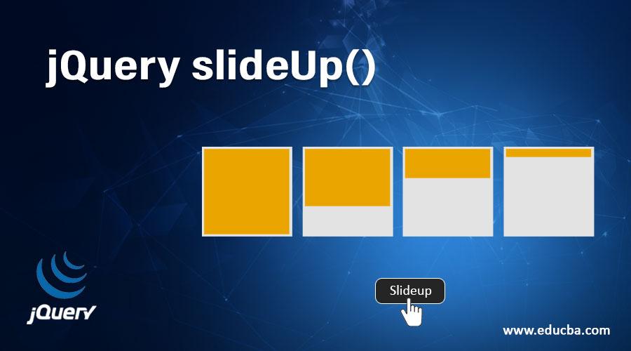 jQuery slideUp()