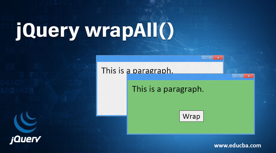 jQuery wrapAll()