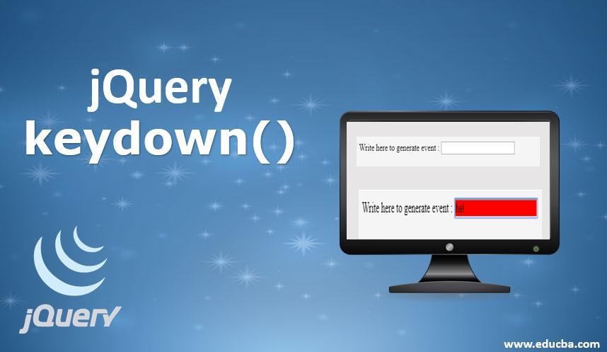 jquery keydown