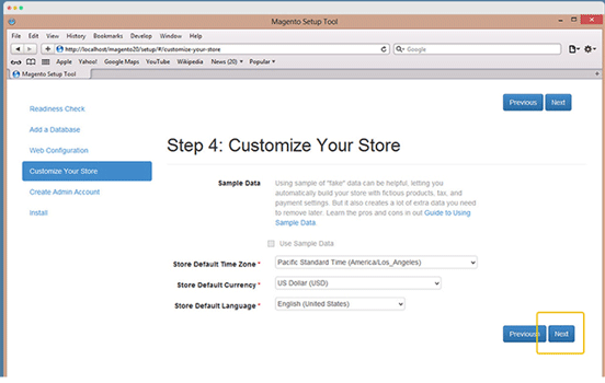 customize your store