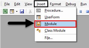 module VBA Project