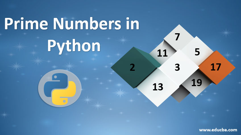 prime numbers in python