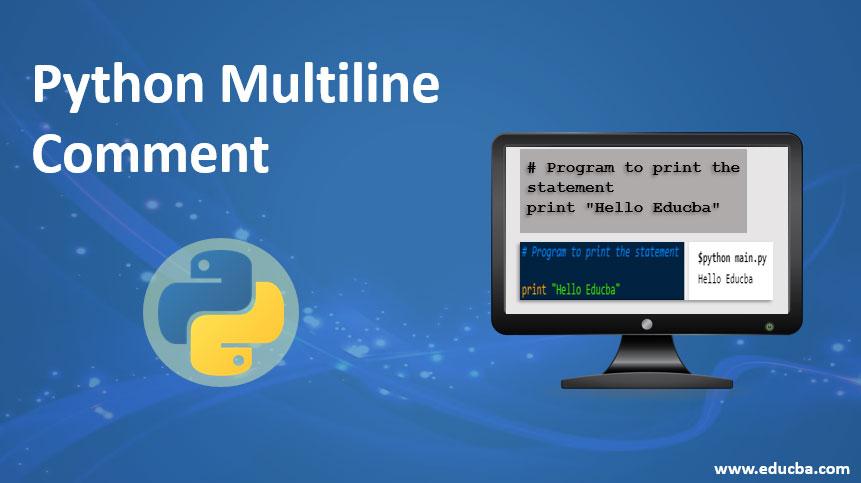 python multiline comment