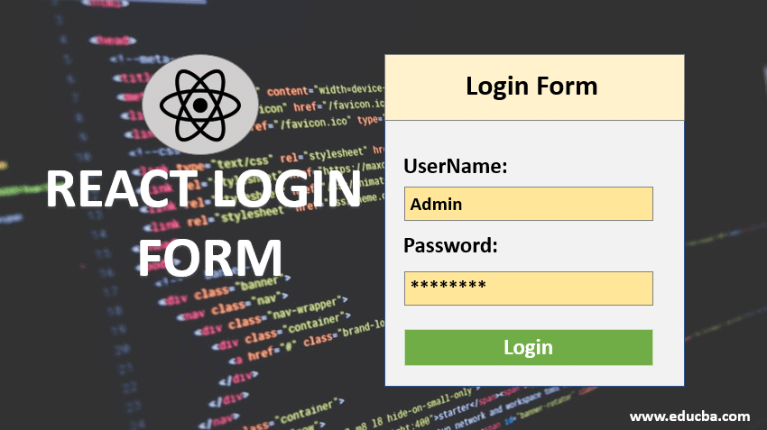 react login form