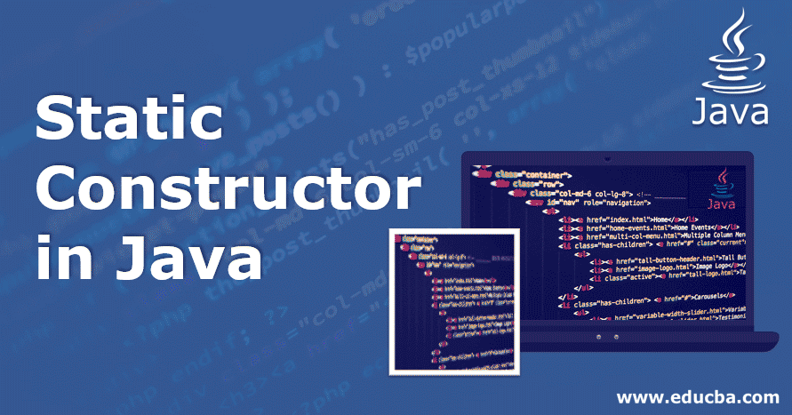 static constructor in java