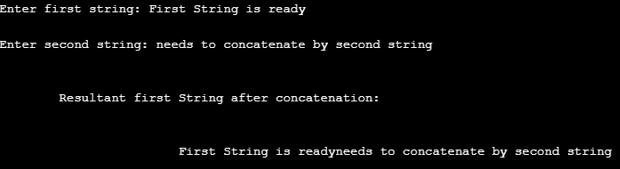 strcat() in C++ eg1.1