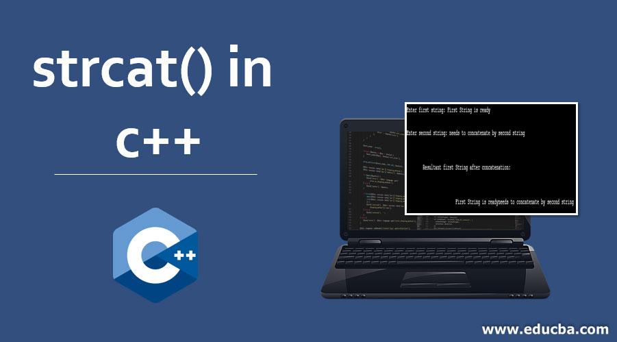 strcat() in C++