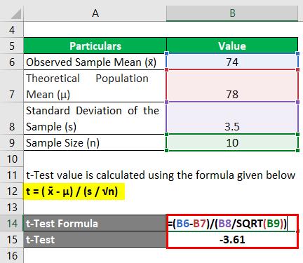 t-Test Formula-1.2