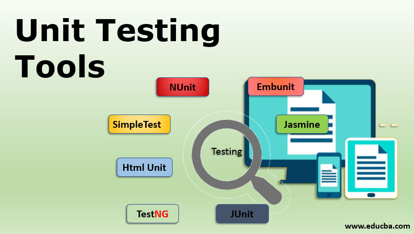 unit testing tools