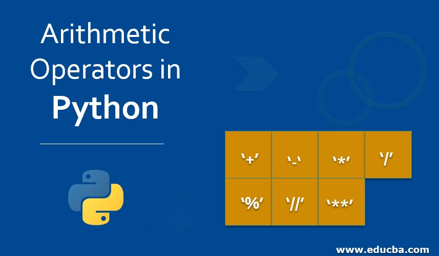 Arithmetic Operators in Python