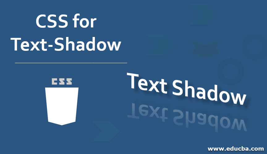 CSS for Text Shadow