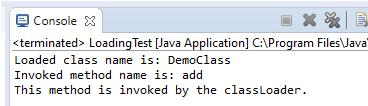 ClassLoader in Java eg
