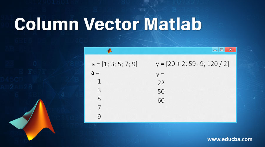 Column Vector Matlab