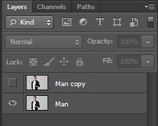 duplicate the layers