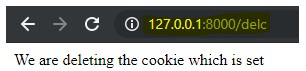 Django Cookies - 12
