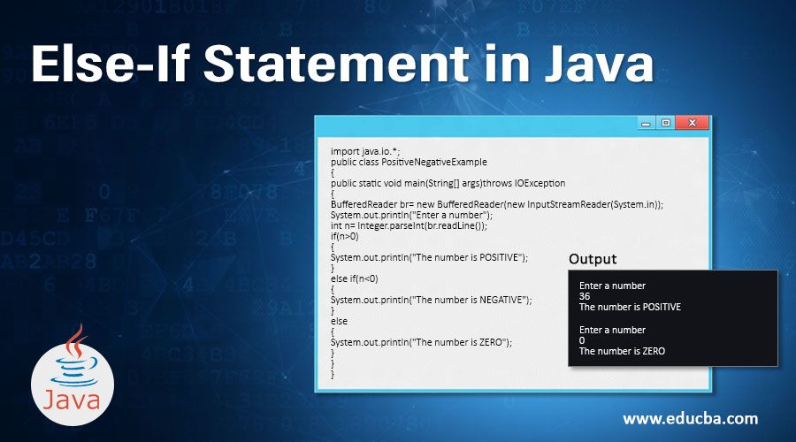 Else-If Statement in Java