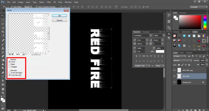 Fire Effect in Photoshop -11