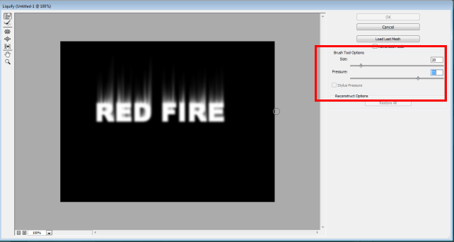 Fire Effect in Photoshop - 20