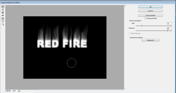 Fire Effect in Photoshop -22