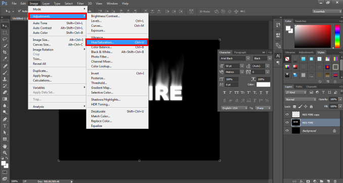 Fire Effect in Photoshop -23