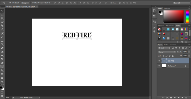 Fire Effect in Photoshop -3