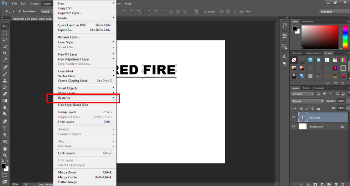 Fire Effect in Photoshop -5