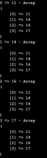 Foreach Loop in PHP eg2