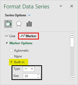 Format Data Series - Bullet Chart 1