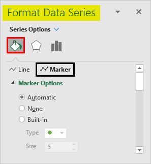 Format Data Series-Bullet Chart 2